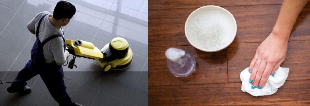 limpieza muebles suelos superficies
